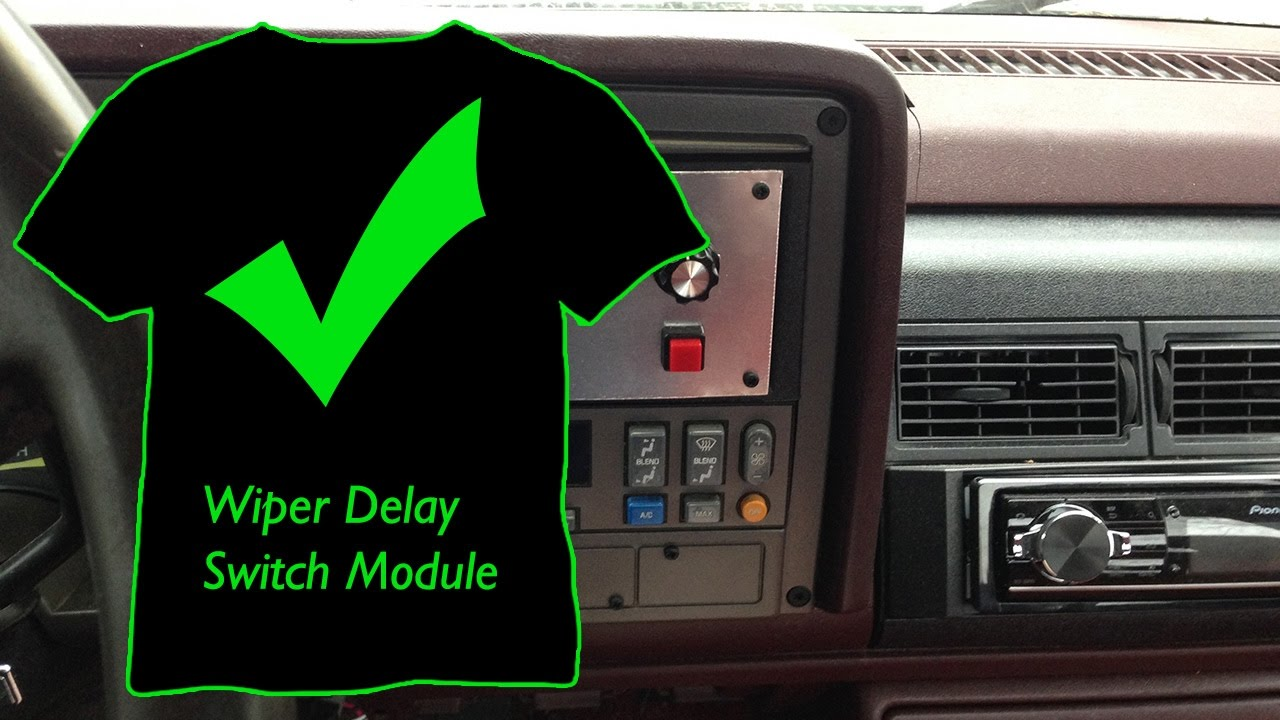 1994 Gmc Sierra Wiper Delay Switch Module