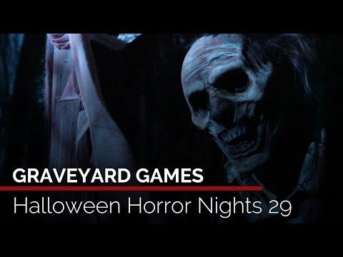 Graveyard Games Highlights Halloween Horror Nights 29 At Universal Orlando Youtube