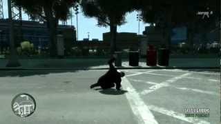 Gta iv Bailing out of car slow motion