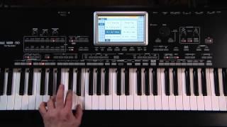 Корг Pa3X Ле відео-керівництво - Частина 5: Обробка вокалу