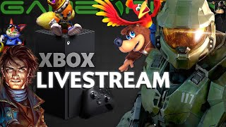 Let's Watch the Xbox Games Showcase! (GameXplain Reacts)