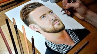 Drawing Justin Timberlake