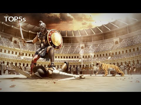 5 Toughest & Most Feared Gladiator Fighters of Ancient Rome...