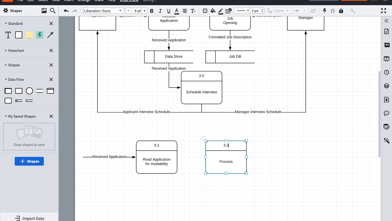 How To Create A Level 1 Data Flow Diagram Dfd Youtube