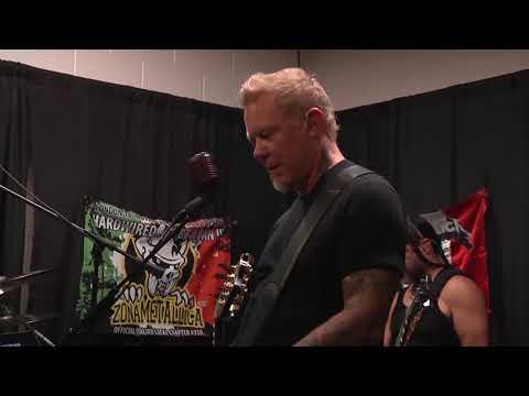Metallica: Tuning Room (Foxborough, MA - 2017)