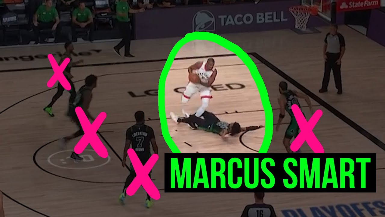 Marcus Smart's game-tying flop was genius in Heat-Celtics Game 1