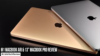 "Apple M1 MacBook Air & 13"" MacBook Pro Review - CPU Revolution!"