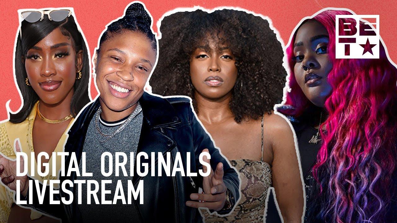 🔴 12-Hour BET Digital Originals Livestream Featuring Young Ezee, Natalie Odell, Tokyo Vanity & More