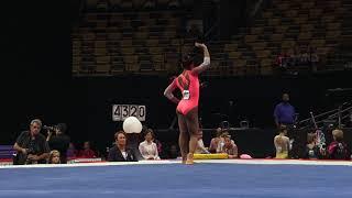 Selena Harris – Floor Exercise – 2018 U.S. Gymnastics Championships – Junior Women Day 2