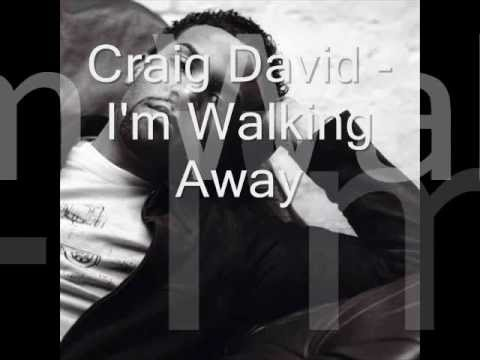 Craig David - Walking Away (lyrics)