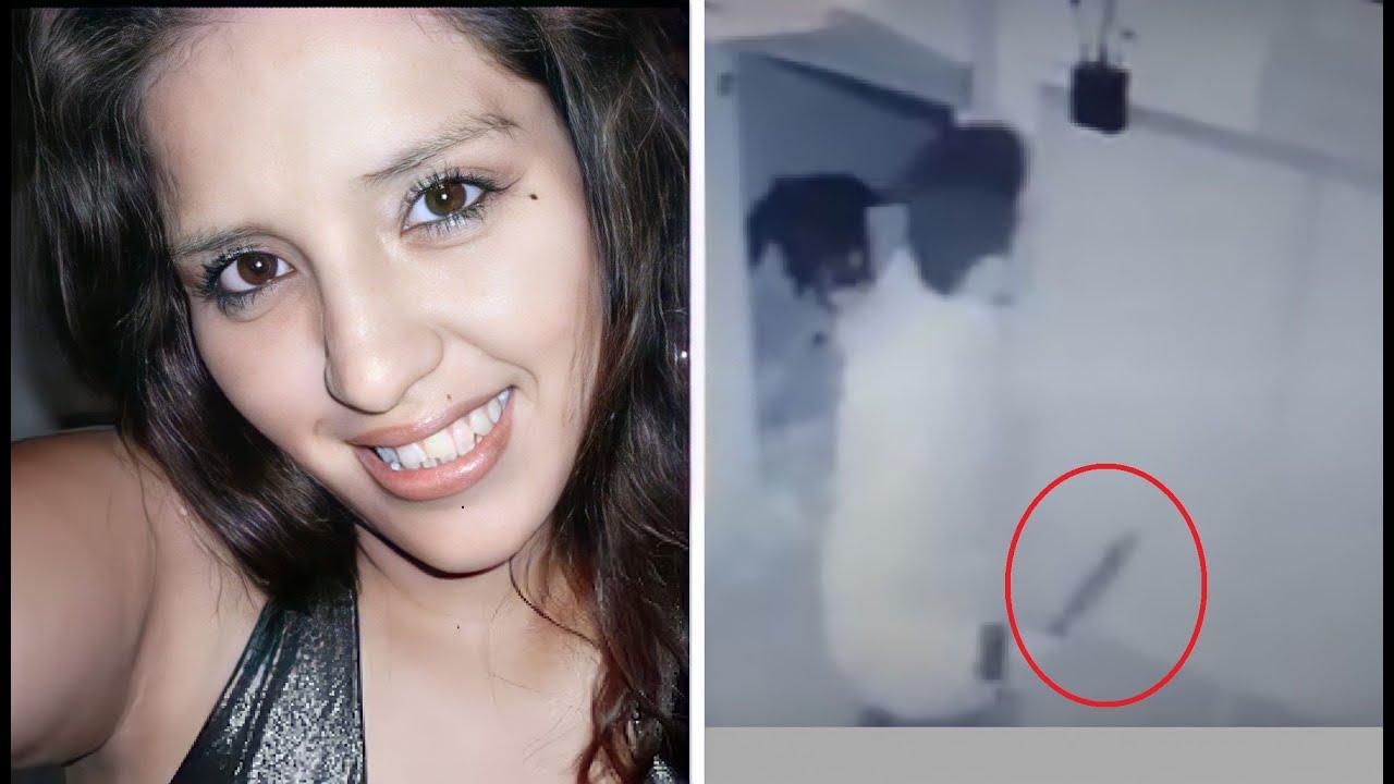 Las CAMARAS grabaron a su ASESINO antes de hacer algo HORRIBLE en su CASA - Fiorela Díaz - Lesma VR