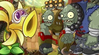 Plants vs Zombies 2 Steam Ages - New Plants in Kung Fu World PVZ 2
