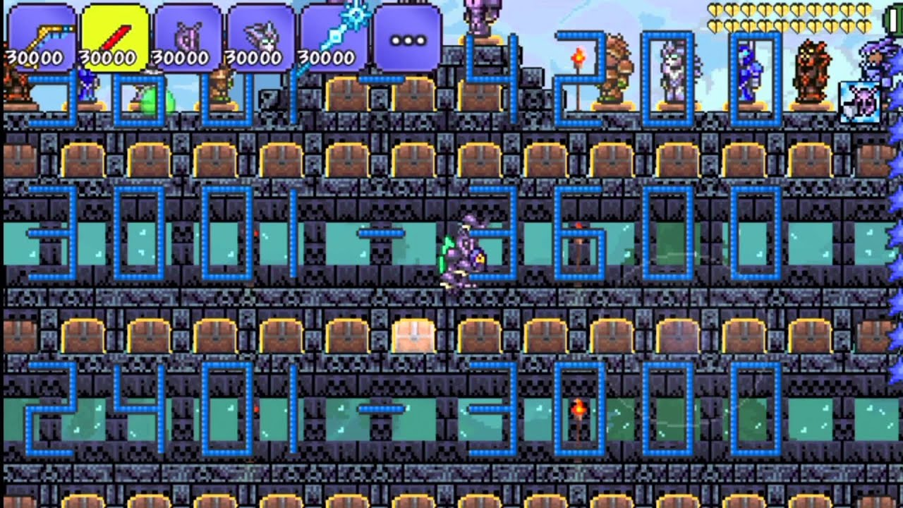 Terraria All Items Map Ios/android 1.2.4