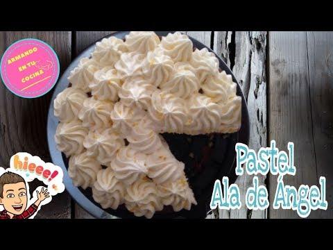 """Paste envinado / Pastel """"Ala de Ángel"""" Receta"""