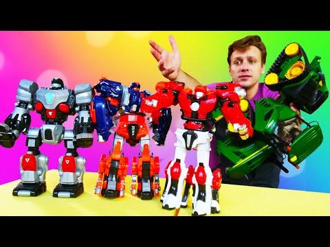 Шоу Hey, Toys! Роботы металионы против корпорации Сигма. Игры и истории детям.