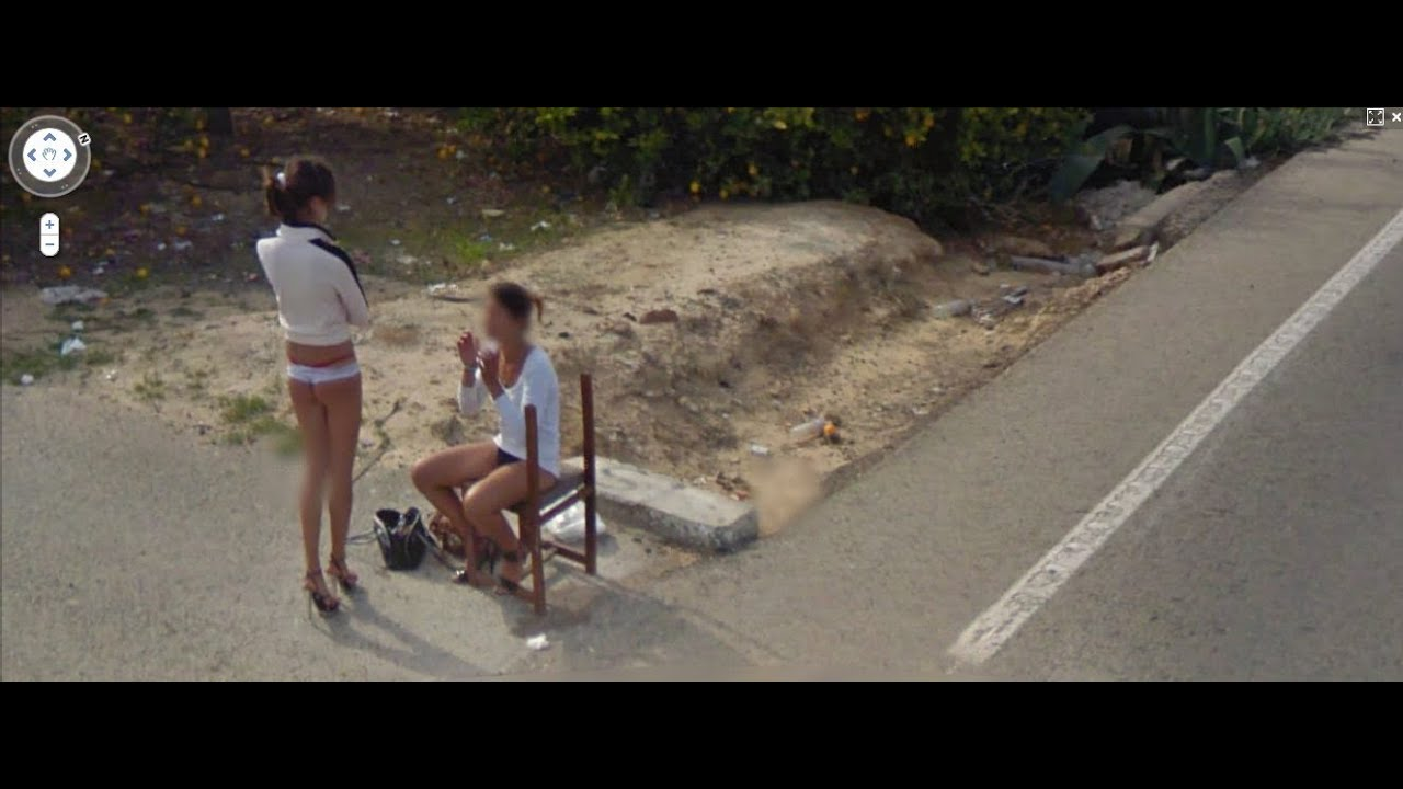 Apologise, but, google street maps bikini