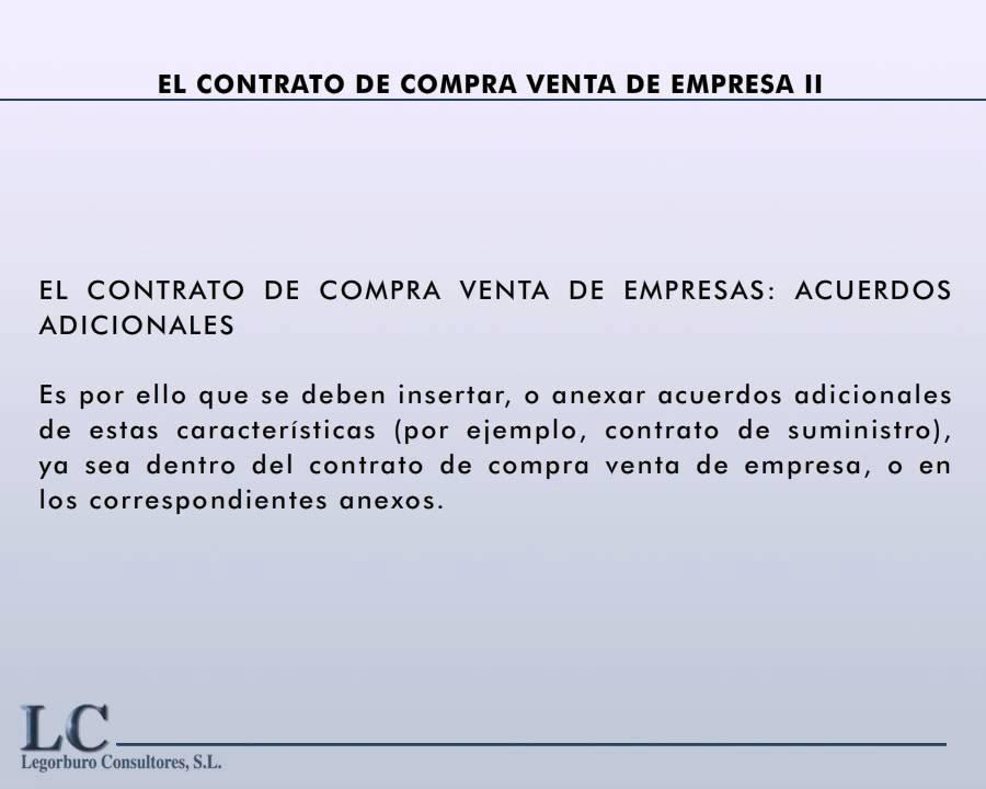 Principales cl usulas del contrato de compra venta de for Que es una clausula