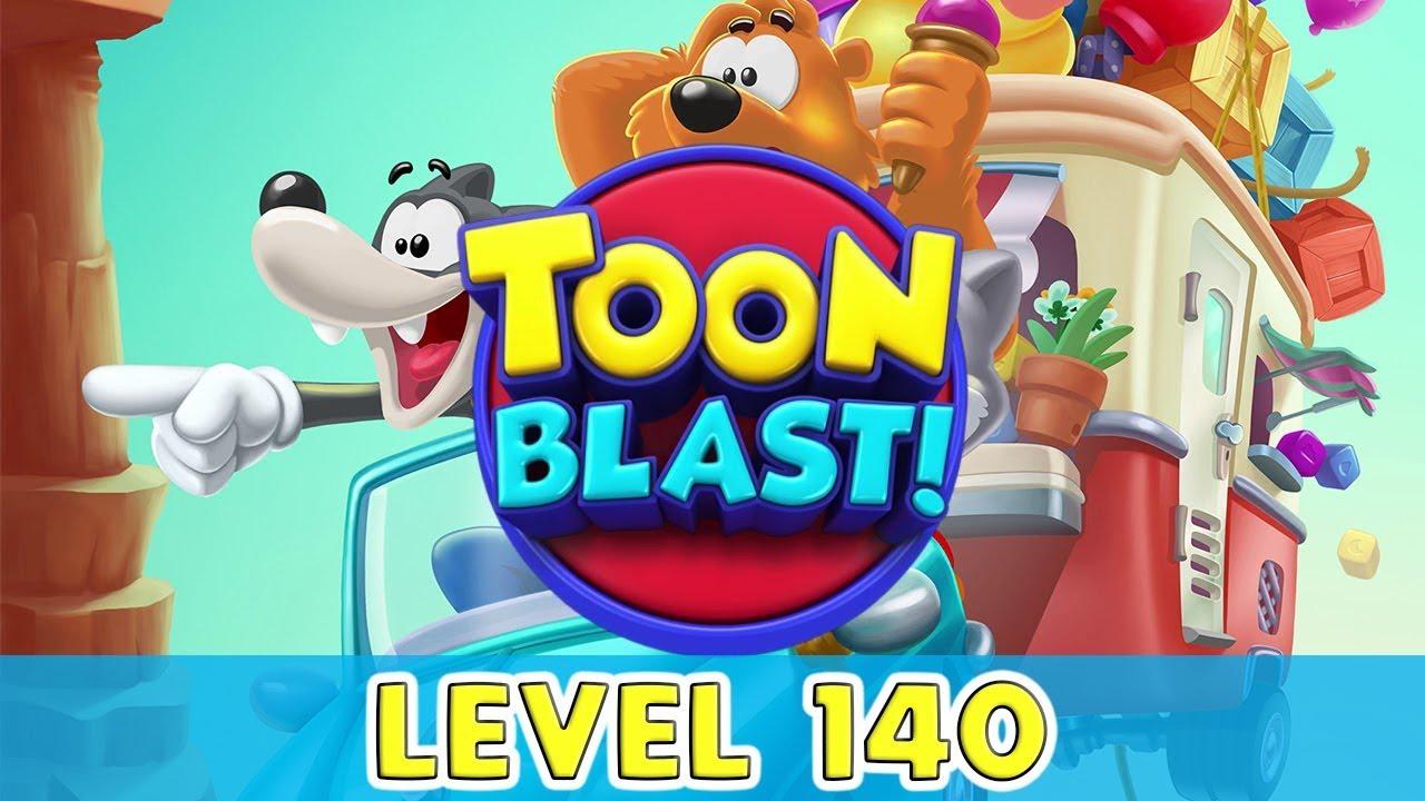 トゥーン ブラスト 140 トゥーンブラスト (Toon Blast)