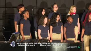 Winton Woods Middle School Choir Holiday Concert: December 8, 2016