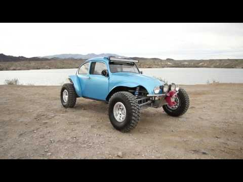 Long travel Baja bug walk around