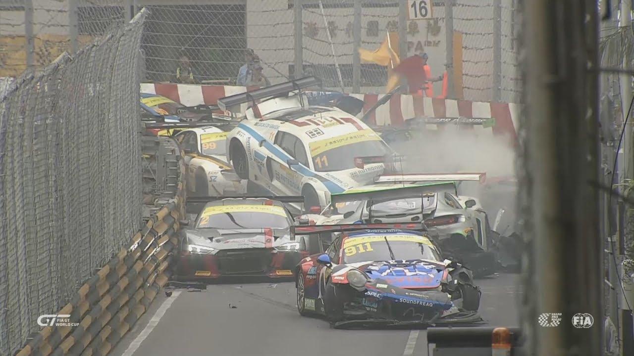 Macau Grand Prix 2017 >> Macau Grand Prix 2017 All Crashes And Fails