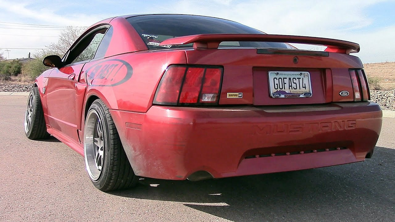 2004 Mustang Gt Slp Loudmouths And Offroad X Pipe Youtube