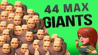 Clash of Clans :: 44 Max Giant Raid! ALL THE LOOT! thumbnail