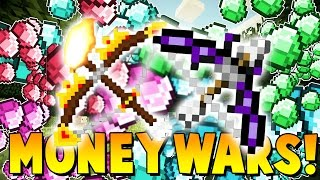 OVERPOWERED GOD BOW ATTACKS?! | Minecraft: Money Wars 1.9 SOLO #9