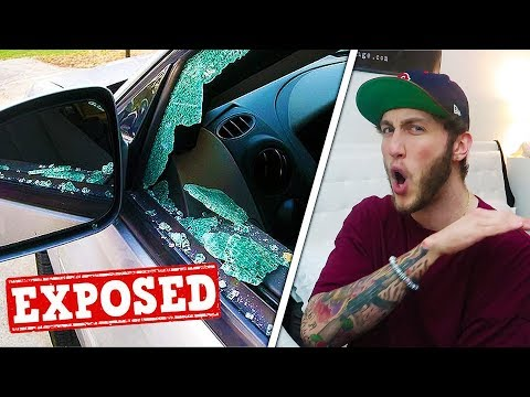 "Why I destroyed a ""fans"" car..."