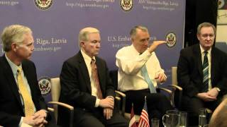 Latvian young leaders meet U.S. Senators Part 2