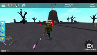 Speed sim (roblox) shrek
