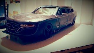 История Создания Моделей Автомобилей Из Пластилина