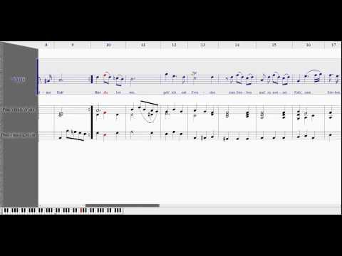 Jean-Sébastien BACH - Bist du bei mir (Noteworthy Composer 2)