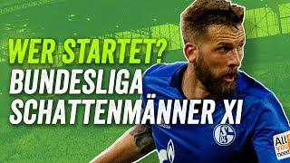 Wer startet?!  Burgstaller, Hasebe, Moisander! Die geheimen Leistungsträger der Bundesliga.