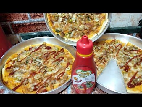 صورة  طريقة عمل البيتزا طريقة عمل البيتزا بالفراخ طريقة عمل البيتزا بالفراخ من يوتيوب