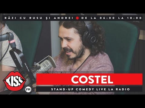 Costel - Stand-up comedy live la radio