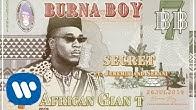 Burna Boy - Secret (feat. Jeremih and Serani) [Official Audio]