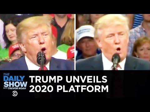 Stephen Colbert and Trevor Noah rehash Trump's Orlando rally: Exact same lines and crowd-size lies