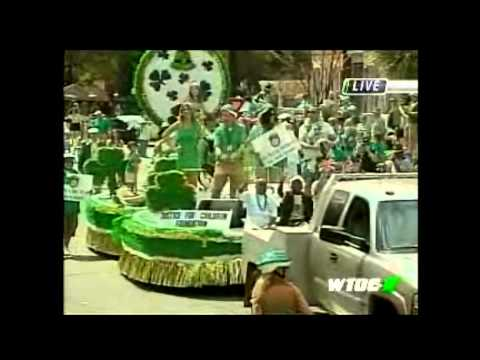 Justice For Children Foundation at the Savannah St. Patricks Day Parade 2012