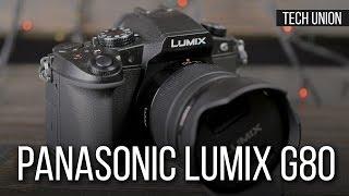 Обзор камеры Panasonic Lumix G80. Сравнение с камерой Panasonic Lumix GH4