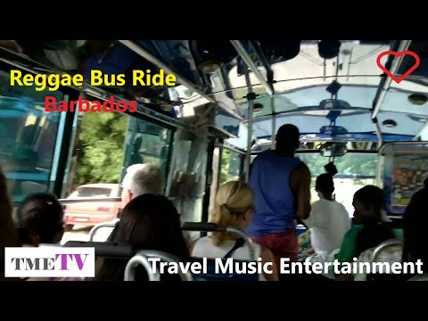 Barbados Reggae Bus Holetown to Bridgetown Aug 2011