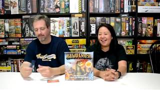 Unboxing of Kaiju Crush by Fireside Games