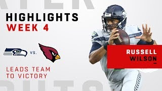 Russell Wilson Highlights Leading Seattle to a Victory