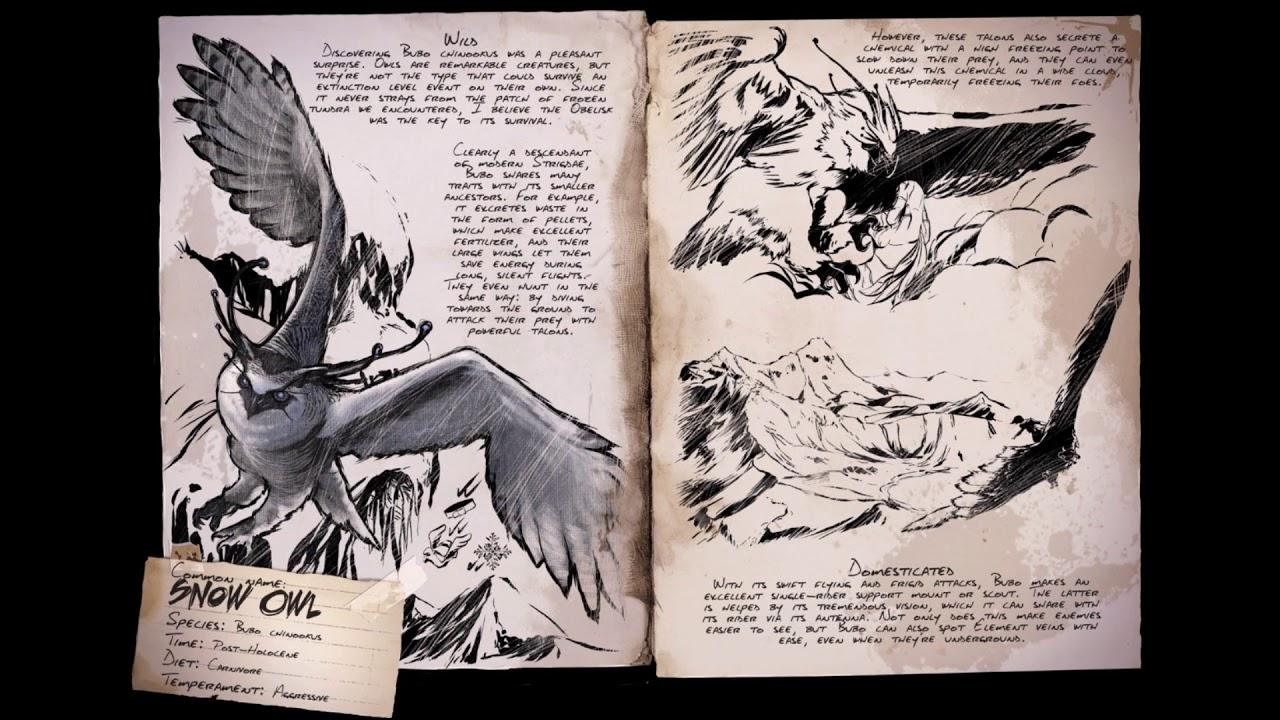 Ark: Extinction (Snow owl Sound effects)