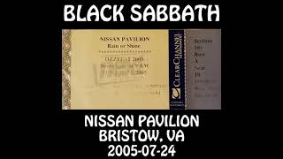 Black Sabbath - 2005-07-24 - Bristow, VA @ Nissan Pavilion [Audio]