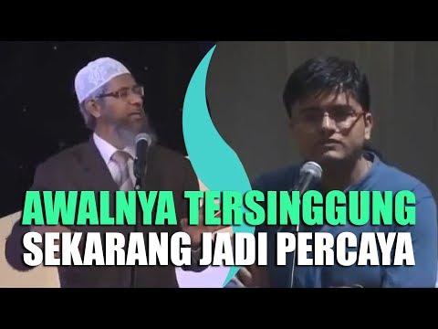 Awalnya Tersinggung dengan Dr. Zakir Naik, Pemuda Ini Sekarang Percaya