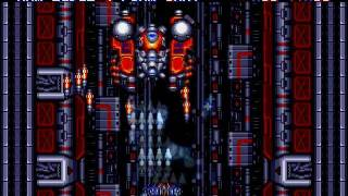 M.U.S.H.A. / Musha Aleste [Hard Mode] (Sega Mega Drive/Genesis) - Full Game