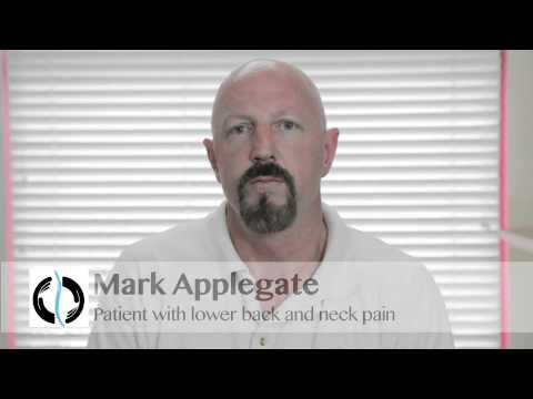 Fountain Valley Lawndale Torrance Chiropractor - Mark Applegate had neck and low back pain