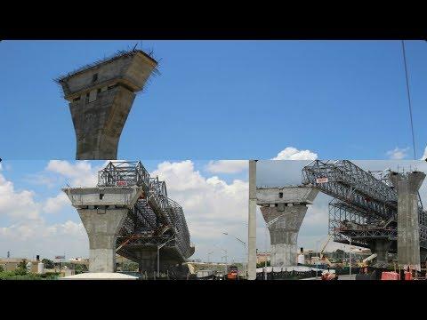 Así Avanza El nuevo puente Pumarejo Sobre El río Magdalena  Barranquilla Colombia 2017
