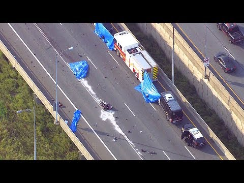 Toronto-bound QEW reopens after fatal crash